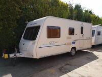 Bailey GT60 Ranger 500/5 5 berth caravan 2011, Awning, Light to tow VGC !!