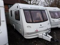 Compass Rambler 2 berth caravan 2004, Awning, VGC, light to tow, Bargain !