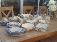 Poole Pottery Dorset Fruits dinnerware