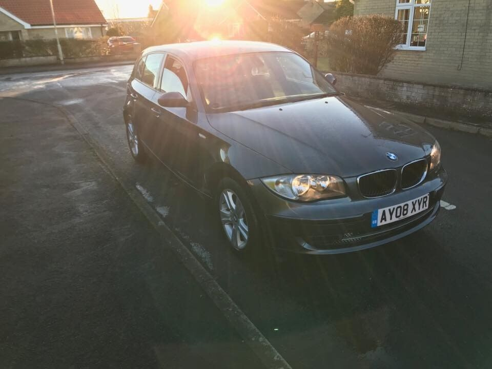 2008 bmw 118d series 1 full service history lady owner