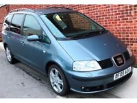SEAT ALHAMBRA 2.0 TDI STYLANCE 5DR **ONE PREVIOUS OWNER**FULL SERVICE HISTORY**VERY GOOD EXAMPLE*