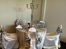 Centre piece from 1$ overlays 4$ chair cover 1$ Epping Ryde Area Preview