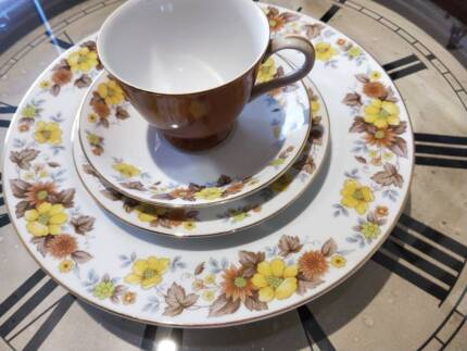 Arcopal france fine china dinner set (6 setting) great condition ...
