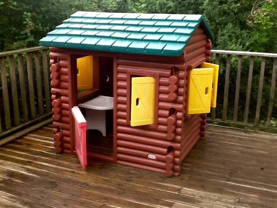 Little Tykes Log Cabin Outside Playhouse In Lewes East