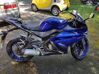 Yamaha yzf r125 2013