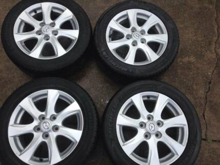 Mazda 3 16 inch alloy wheels Galston Hornsby Area Preview