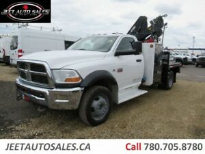 2012 Dodge Ram 5500 SL Picker Crane