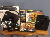 Nintendo GameCube Console-2Controllers + 5 Games