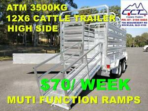 Take Home Layby 12x6 Cattle Trailer (FREE 6 MONTHS REGO)