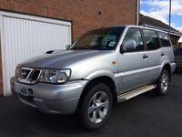 2004 54 Nissan Terrano 4x4 3.0 Turbo Diesel *39,000 Miles* 7 Seater not Shogun patrol navara ranger