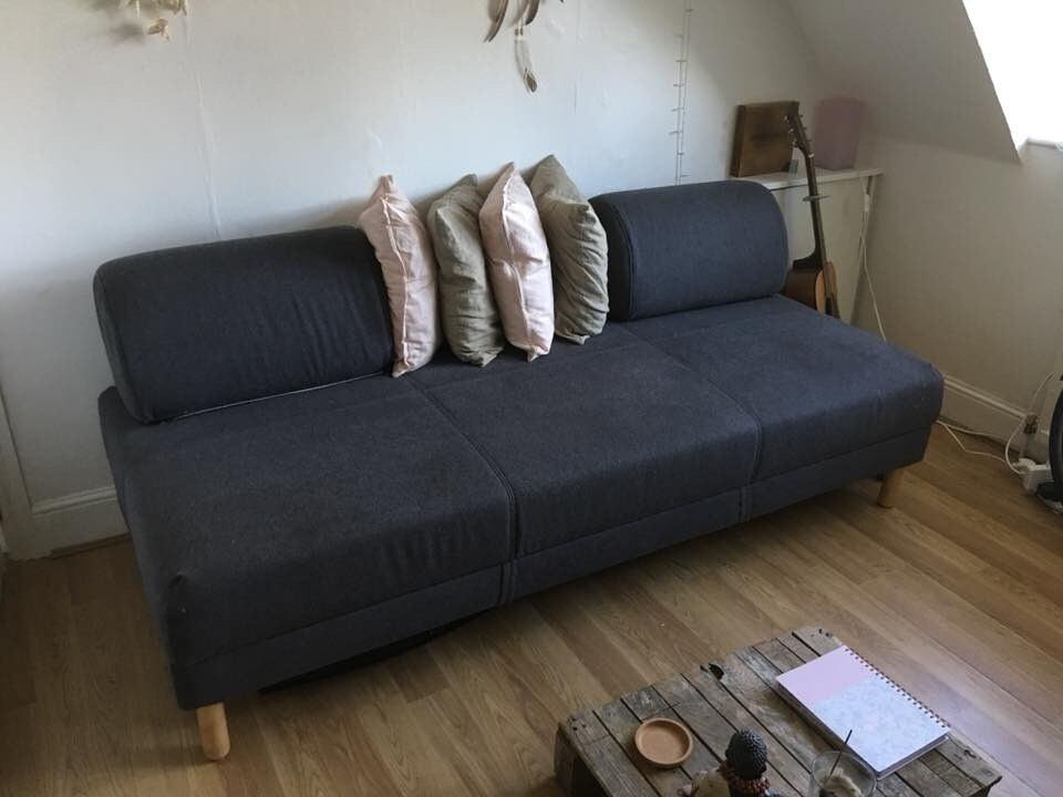 Phenomenal Open To Offers Grey Sofa Sofa Bed Day Bed With Sprung Mattress And Storage In Bournemouth Dorset Gumtree Alphanode Cool Chair Designs And Ideas Alphanodeonline