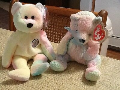 Mellow Bear - Ty b b bear & mellow bear both mint
