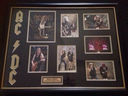 ACDC signed memorabilia with certificate   Yatala Gold Coast North Preview