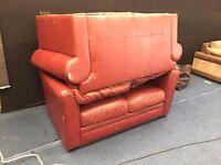 Free 2x 2 Seater Red Sofas