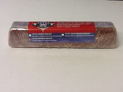BROWN ROUGE ( LARGE 2 LB) POLISHING BUFFING COMPOUND 10X2X2 MADE IN USA