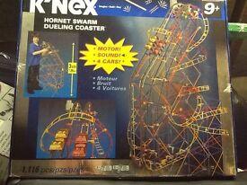 KNEX HORNET SWARM DUELING COASTER