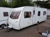 Lunar Freelander EB 4 berth caravan 2007 FIXED BED, MOTOR MOVER, Awning !!