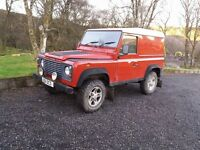 Land Rover Defender 90 1 yr MOT Excellent vehicle.