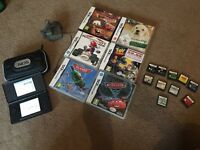Nintendo ds with 16 games