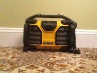 New Dewalt dcr017 radio