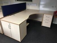 Oak desks job lot clear out