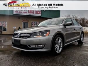 2012 Volkswagen Passat 2.0 TDI Highline DIESEL!!! LEATHER !!!...