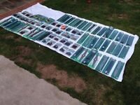 75 new lawnmower blades / boss's / strimmer heads . Fits Bosch - Flymo - black and decker + more