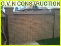 Bricklaying and Ground Works.