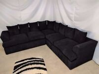SOFT & COMFY LIVERPOOL 5-SEATER CORNER SOFA OR 3+2+ARMCHAIR - IN STOCK
