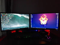 2 Acer Gaming Monitors 24''