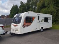 2014 Bailey Unicorn Valencia 5 berth Caravan Fixed Bed Motor Mover Bargain