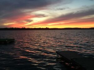 20% OFF  lakefront cottage rentals on Rice Lake