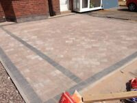 DRIVEWAYS & PATIOS. BEST PRICES! FREE QUOTES! Block Paving Tarmac Slabbing Fencing Brickwork Etc...
