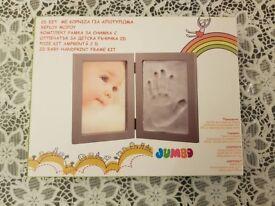 2D Baby handprint frame kit