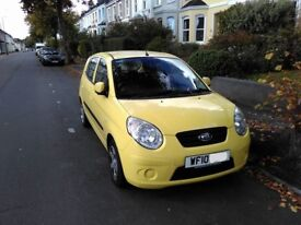 Kia Picanto Strike 2010 (Manual), 11 months service and MOT, one owner from new.