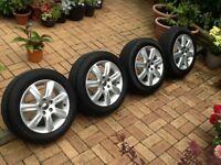 VW polo genuine alloys wheels tyres