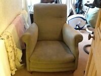 TWO OLD ARMCHAIRS FREE