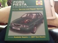 Haynes Ford Fiesta Oct 1995 to Mar 2002 (N to 02 registration)