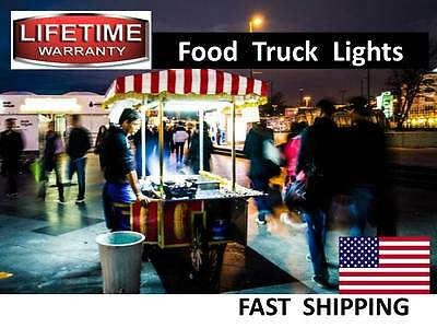 Box Truck - Food Truck - Concession Trailer - Hot Dog Cart Led Lighting - New
