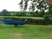 15 ft boat and engine