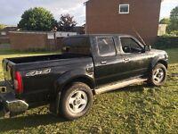 NISSAN NAVARA D40 2.5DI CREW CAB,LONG MOT,TOW BAR,MAY TAKE CHEAP P/EX AND CASH