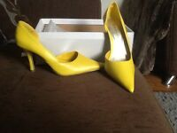 Size 37 women's Dolcis yellow shoes New