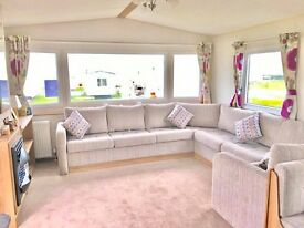 LOVELY QUALITY STATIC CARAVAN , PERFECT FAMILY HOLIDAY HOME , *BRAND NEW* NORTH EAST COAST,SEA VIEWS