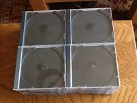 40 jewel CD cases