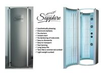 Vertical Domestic Home Use Stand Up Sunbed - Tansun Sapphire. 3 years warranty