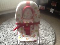 Kiddiecare Baby Chair Adjustable Sitting & Lying Head Support