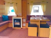 Stunning Starter Holiday Home Available At Sandylands Now Open 12 Months