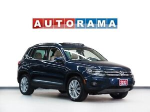 2013 Volkswagen Tiguan AWD NAVIGATION LEATHER PANORAMIC SUNROOF
