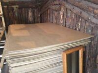 Hardboard sheets x 18