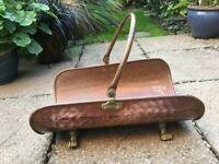Log Holder - Copper and Brass